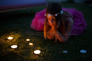 Candle light dream photo